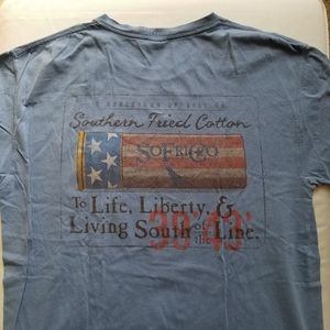 "Southern Fried Cotton ""Life, Liberty"" Tee"